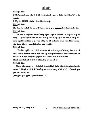 Tài liệu bồi dưỡng HSG Toán lớp 6, 7, 8